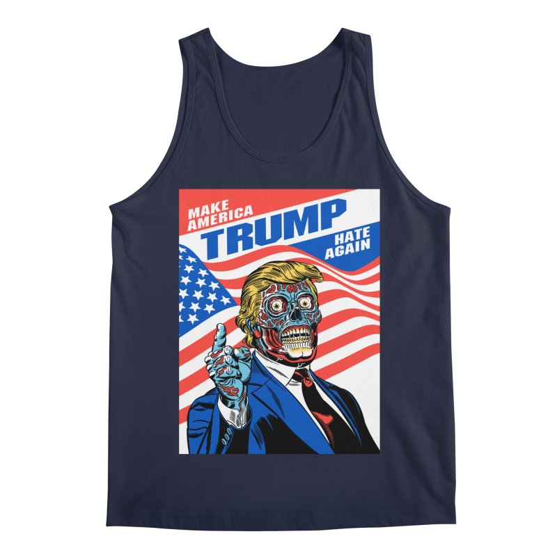 Make America Hate Again! Men's Regular Tank by Mitch O'Connell