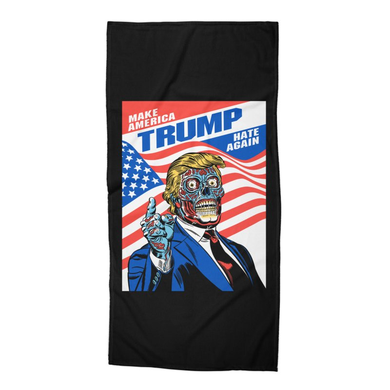 Make America Hate Again! Accessories Beach Towel by Mitch O'Connell