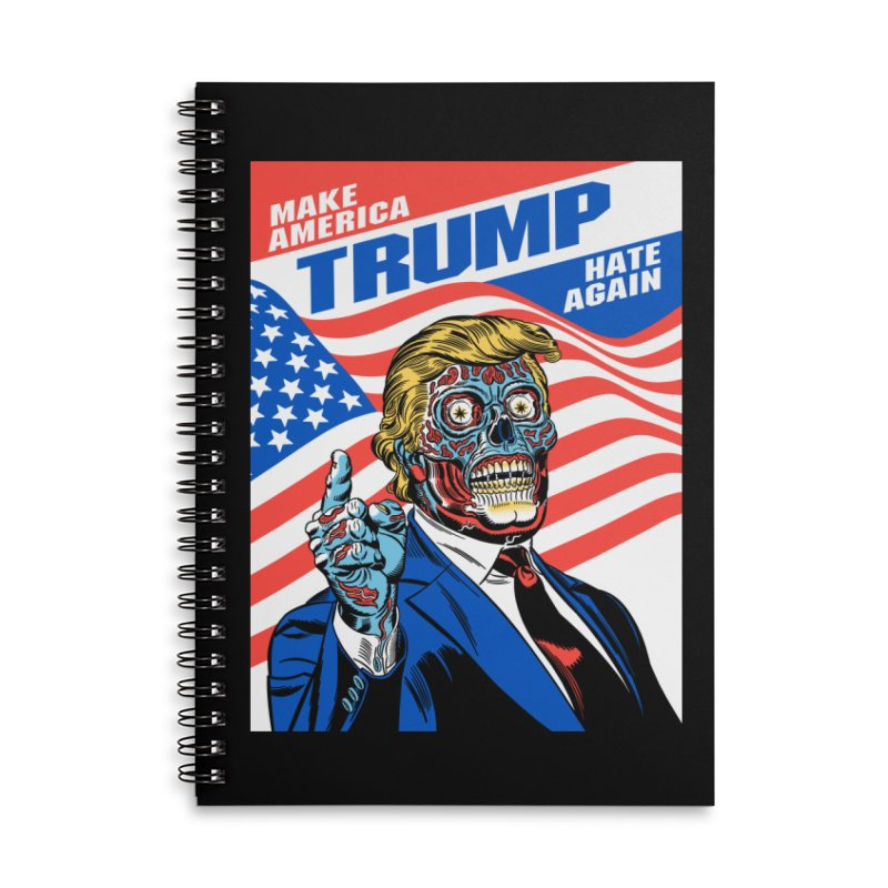 Make America Hate Again! Accessories Notebook by Mitch O'Connell