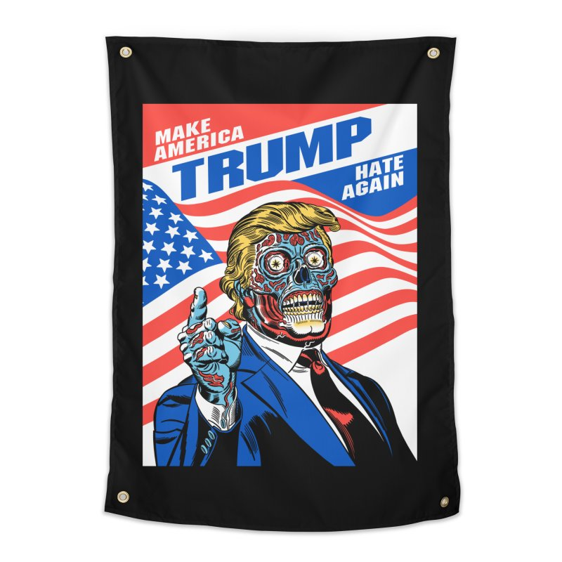 Make America Hate Again! Home Tapestry by Mitch O'Connell