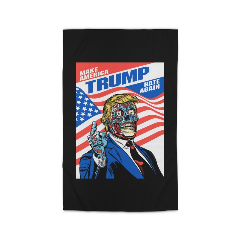 Make America Hate Again! Home Rug by Mitch O'Connell