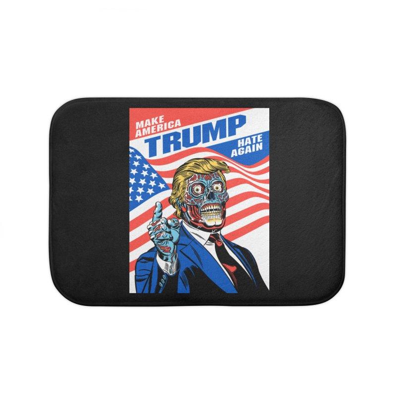 Make America Hate Again! Home Bath Mat by Mitch O'Connell