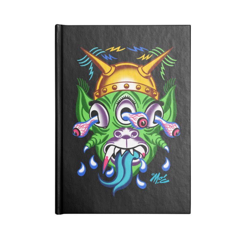"""'Leave it to Beaver' Monster Shirt! """"Beaver"""" version! Accessories Lined Journal Notebook by Mitch O'Connell"""