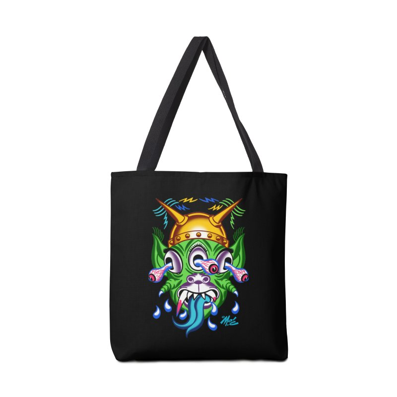 """'Leave it to Beaver' Monster Shirt! """"Beaver"""" version! Accessories Bag by Mitch O'Connell"""