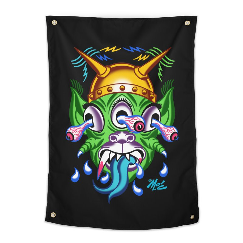 "'Leave it to Beaver' Monster Shirt! ""Beaver"" version! Home Tapestry by Mitch O'Connell"