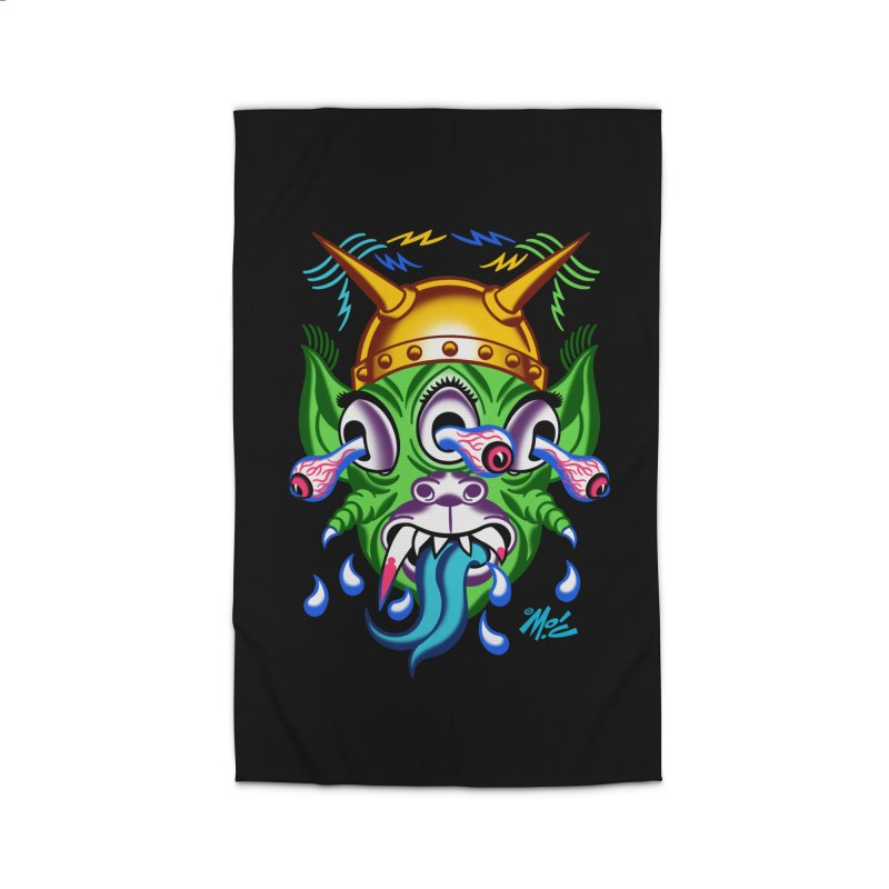 """'Leave it to Beaver' Monster Shirt! """"Beaver"""" version! Home Rug by Mitch O'Connell"""