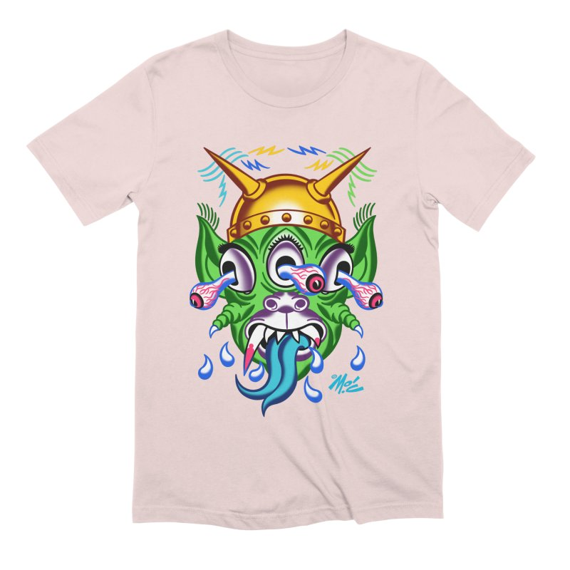 """'Leave it to Beaver' Monster Shirt! """"Beaver"""" version! Men's Extra Soft T-Shirt by Mitch O'Connell"""