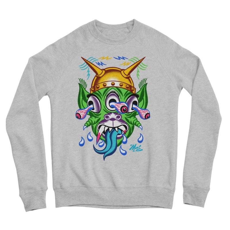 "'Leave it to Beaver' Monster Shirt! ""Beaver"" version! Women's Sponge Fleece Sweatshirt by Mitch O'Connell"