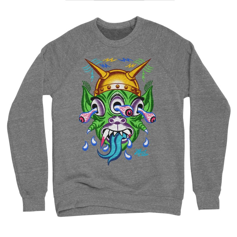 "'Leave it to Beaver' Monster Shirt! ""Beaver"" version! Men's Sponge Fleece Sweatshirt by Mitch O'Connell"