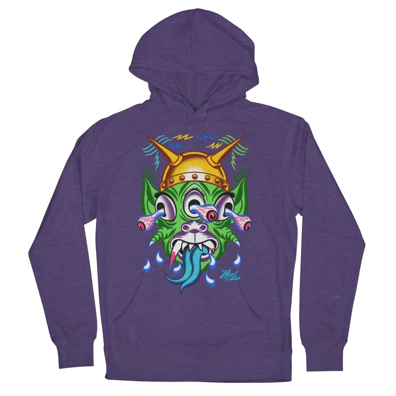 """'Leave it to Beaver' Monster Shirt! """"Beaver"""" version! Women's French Terry Pullover Hoody by Mitch O'Connell"""