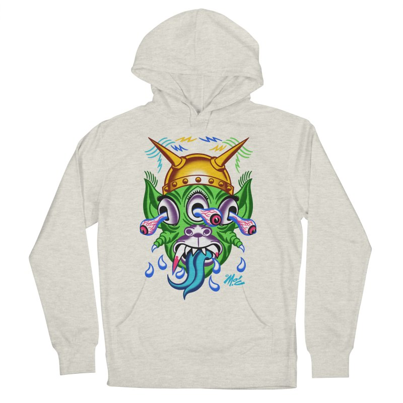 "'Leave it to Beaver' Monster Shirt! ""Beaver"" version! Women's French Terry Pullover Hoody by Mitch O'Connell"