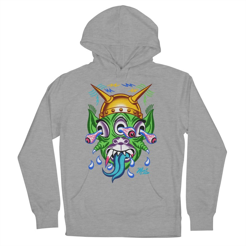"""'Leave it to Beaver' Monster Shirt! """"Beaver"""" version! Men's French Terry Pullover Hoody by Mitch O'Connell"""