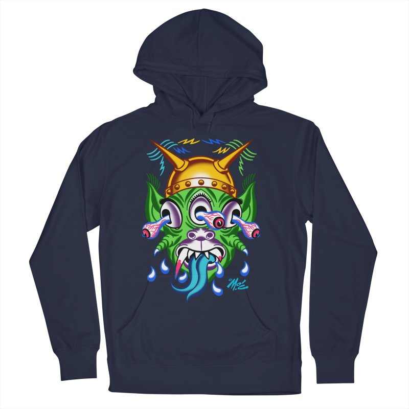 "'Leave it to Beaver' Monster Shirt! ""Beaver"" version! Men's Pullover Hoody by Mitch O'Connell"