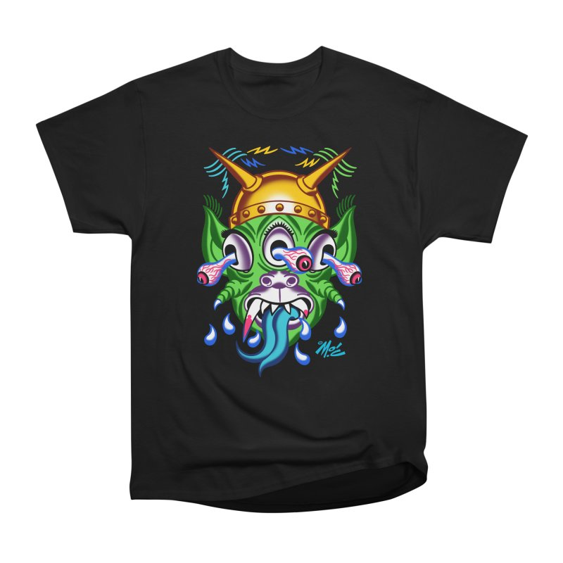 """'Leave it to Beaver' Monster Shirt! """"Beaver"""" version! Women's Heavyweight Unisex T-Shirt by Mitch O'Connell"""