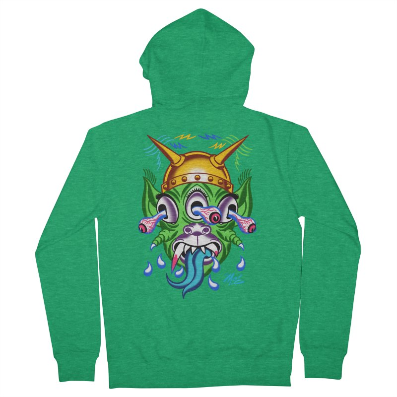 """'Leave it to Beaver' Monster Shirt! """"Beaver"""" version! Women's Zip-Up Hoody by Mitch O'Connell"""