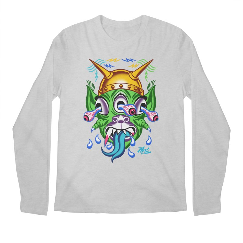 """'Leave it to Beaver' Monster Shirt! """"Beaver"""" version! Men's Regular Longsleeve T-Shirt by Mitch O'Connell"""