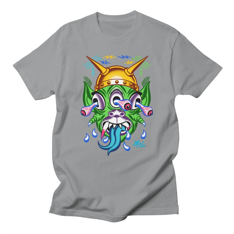 """'Leave it to Beaver' Monster Shirt! """"Beaver"""" version! Men's Regular T-Shirt by Mitch O'Connell"""