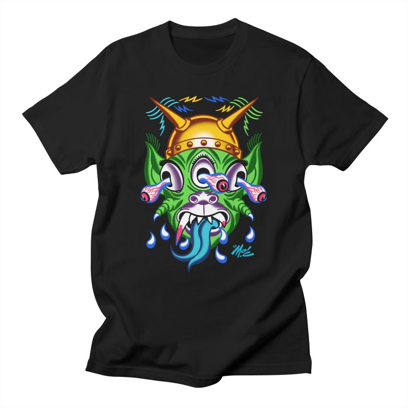 """'Leave it to Beaver' Monster Shirt! """"Beaver"""" version! Women's Regular Unisex T-Shirt by Mitch O'Connell"""