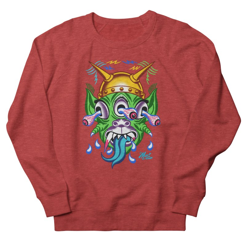 "'Leave it to Beaver' Monster Shirt! ""Beaver"" version! Women's French Terry Sweatshirt by Mitch O'Connell"
