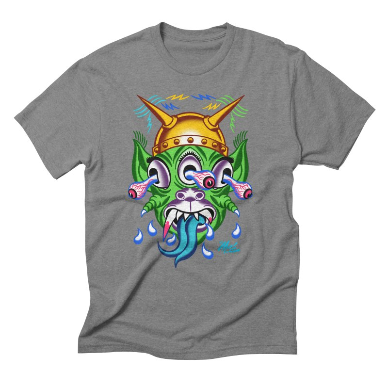 """'Leave it to Beaver' Monster Shirt! """"Beaver"""" version! Men's T-Shirt by Mitch O'Connell"""