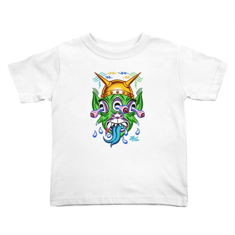 "'Leave it to Beaver' Monster Shirt! ""Beaver"" version! Kids Toddler T-Shirt by Mitch O'Connell"