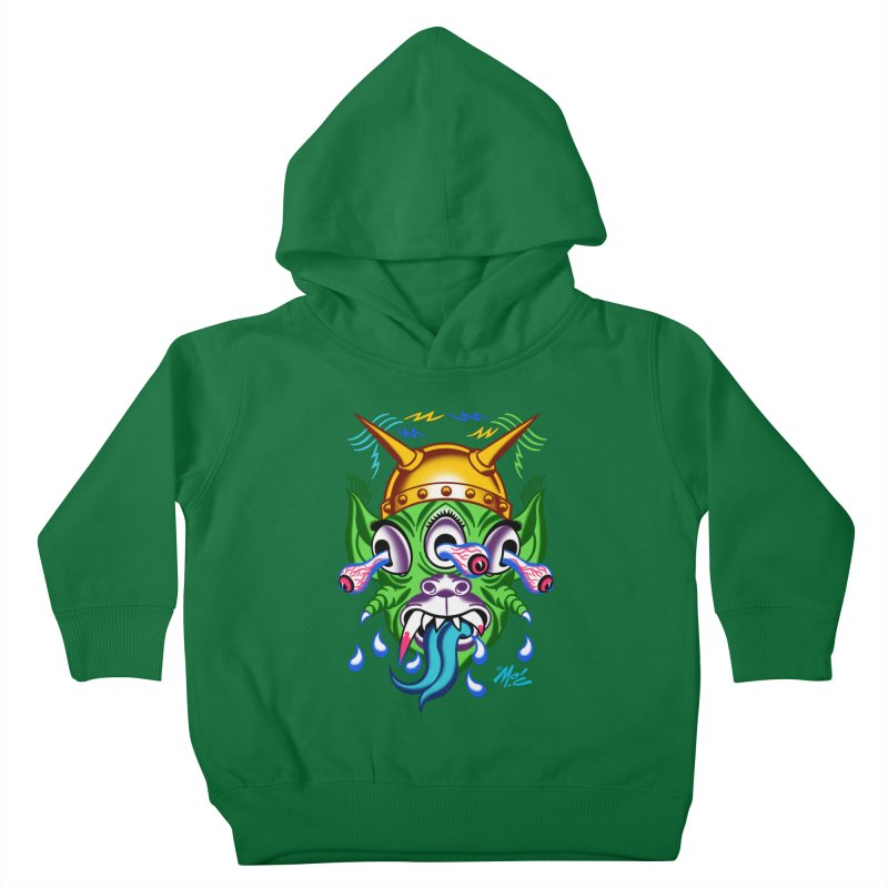"'Leave it to Beaver' Monster Shirt! ""Beaver"" version! Kids Toddler Pullover Hoody by Mitch O'Connell"