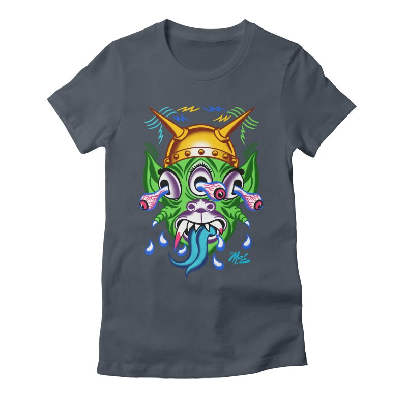 """'Leave it to Beaver' Monster Shirt! """"Beaver"""" version! Women's T-Shirt by Mitch O'Connell"""