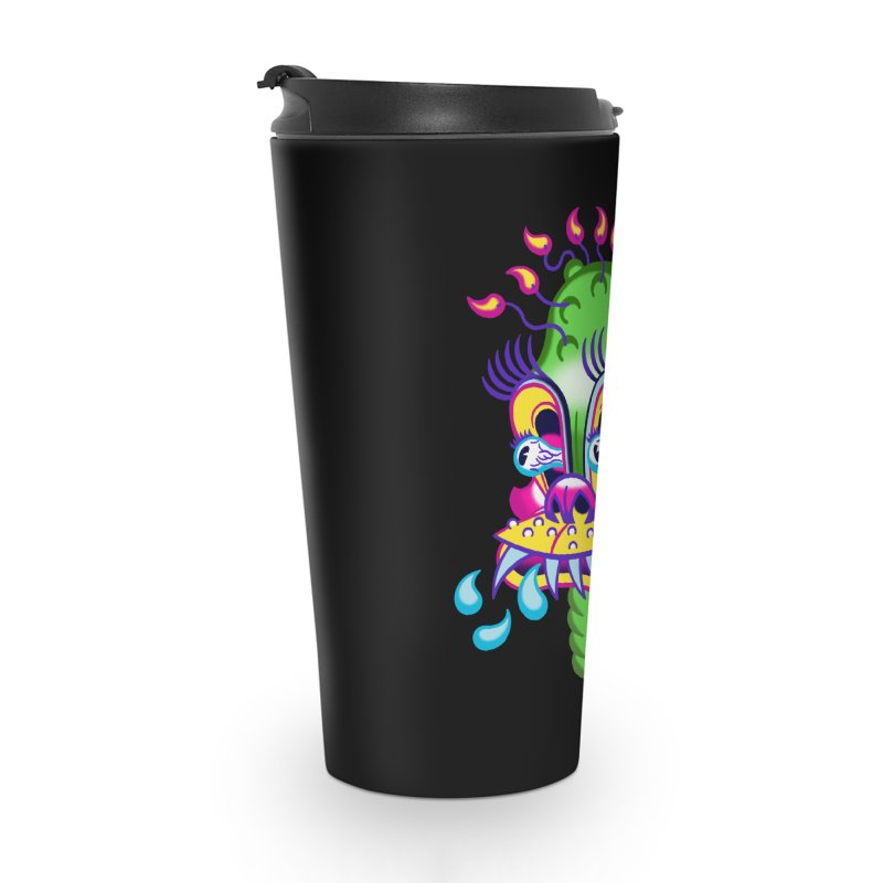 "'Leave it to Beaver' Monster Shirt! ""Alan"" version! Accessories Travel Mug by Mitch O'Connell"
