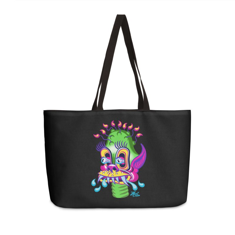 """'Leave it to Beaver' Monster Shirt! """"Alan"""" version! Accessories Weekender Bag Bag by Mitch O'Connell"""