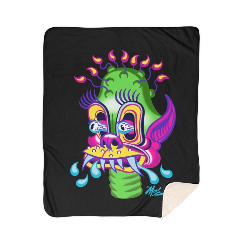 "'Leave it to Beaver' Monster Shirt! ""Alan"" version! Home Sherpa Blanket Blanket by Mitch O'Connell"
