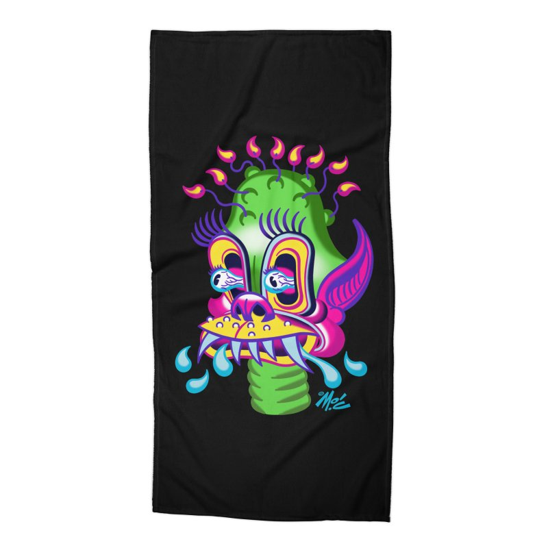 """'Leave it to Beaver' Monster Shirt! """"Alan"""" version! Accessories Beach Towel by Mitch O'Connell"""
