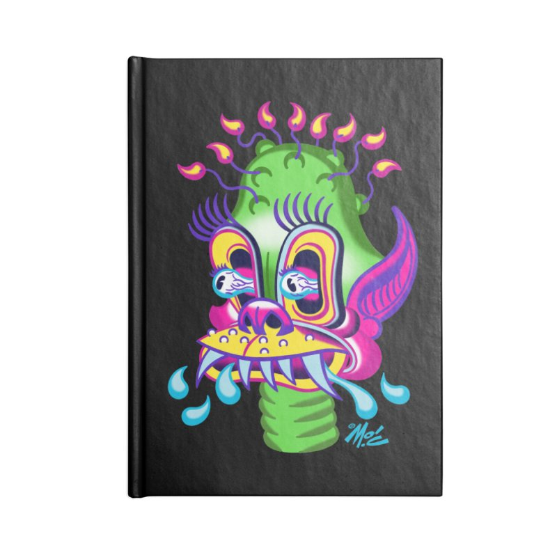 """'Leave it to Beaver' Monster Shirt! """"Alan"""" version! Accessories Lined Journal Notebook by Mitch O'Connell"""