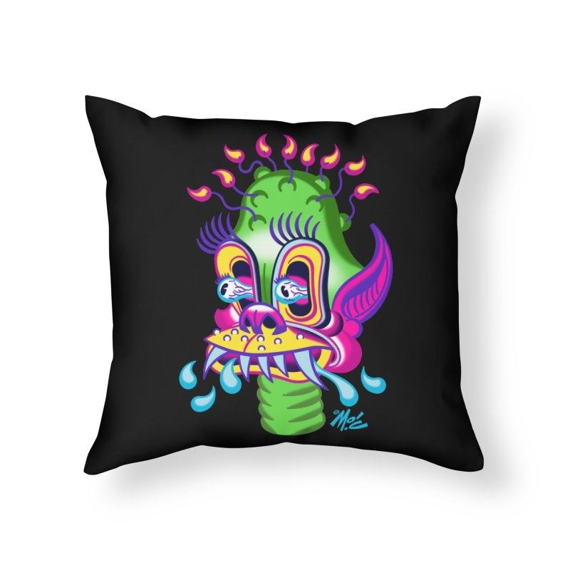 "'Leave it to Beaver' Monster Shirt! ""Alan"" version! Home Throw Pillow by Mitch O'Connell"
