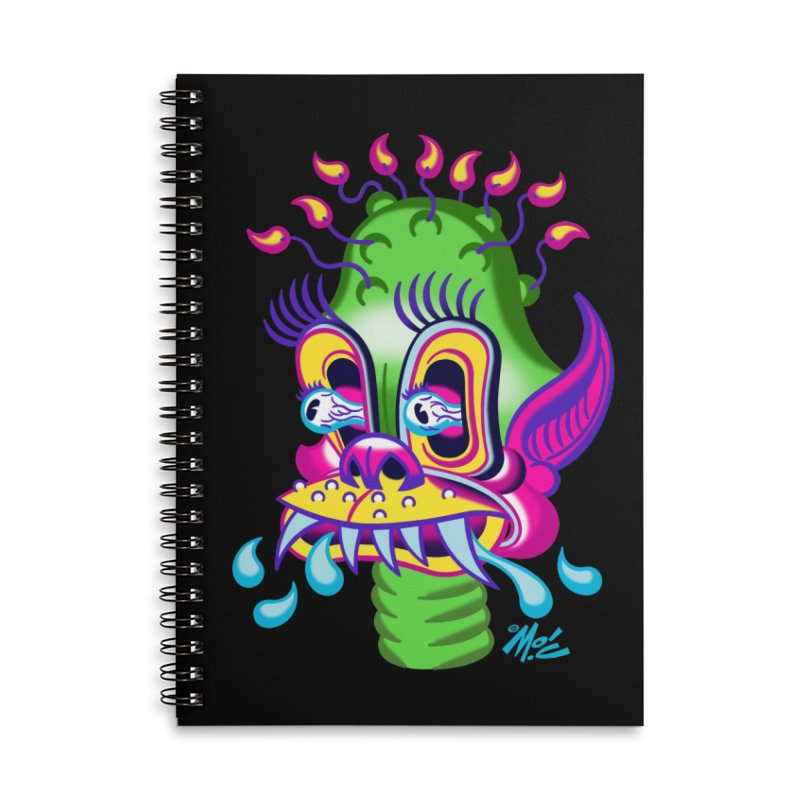 "'Leave it to Beaver' Monster Shirt! ""Alan"" version! Accessories Lined Spiral Notebook by Mitch O'Connell"