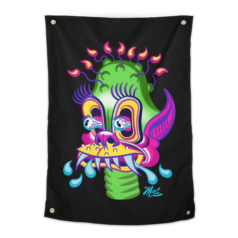 """'Leave it to Beaver' Monster Shirt! """"Alan"""" version! Home Tapestry by Mitch O'Connell"""