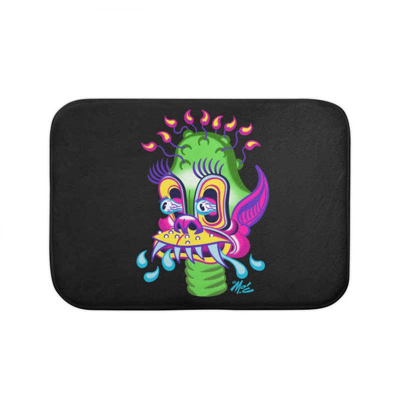 """'Leave it to Beaver' Monster Shirt! """"Alan"""" version! Home Bath Mat by Mitch O'Connell"""