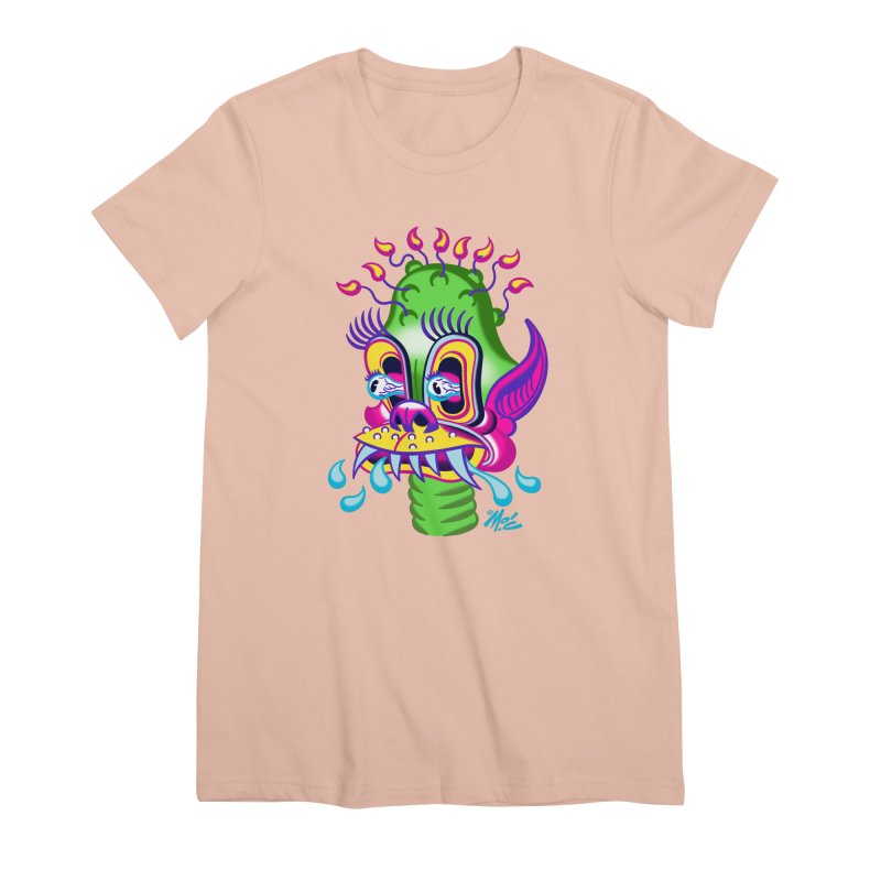 """'Leave it to Beaver' Monster Shirt! """"Alan"""" version! Women's Premium T-Shirt by Mitch O'Connell"""