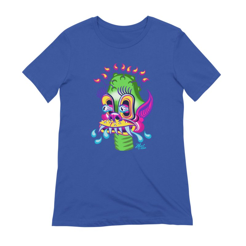 "'Leave it to Beaver' Monster Shirt! ""Alan"" version! Women's Extra Soft T-Shirt by Mitch O'Connell"