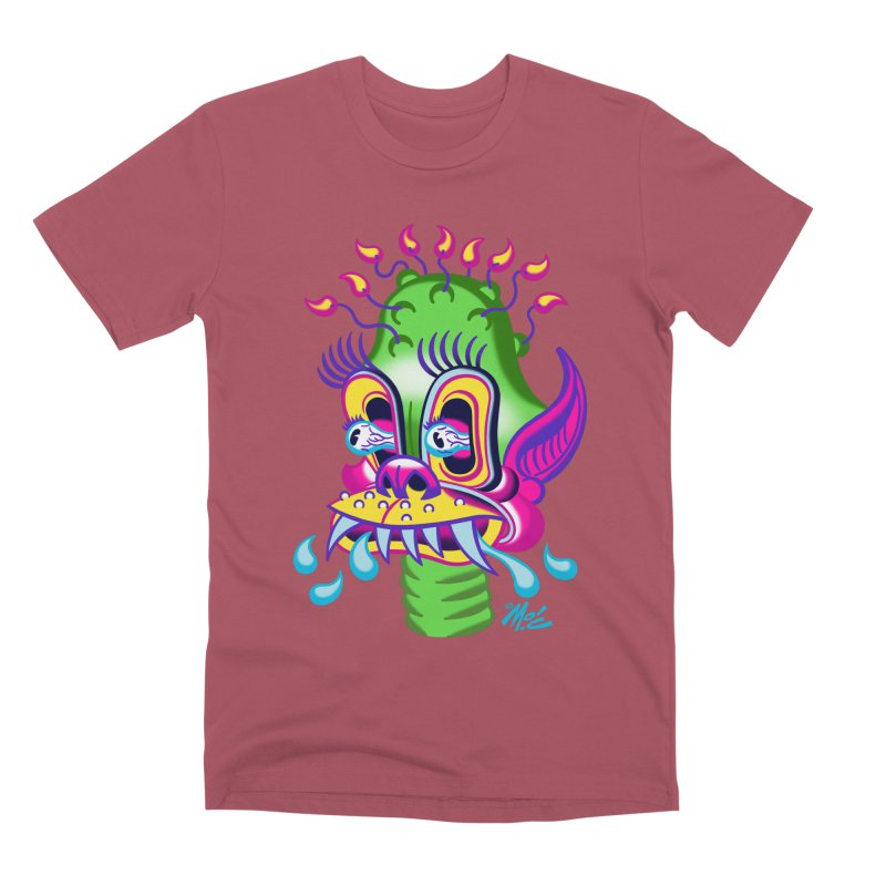 """'Leave it to Beaver' Monster Shirt! """"Alan"""" version! Men's Premium T-Shirt by Mitch O'Connell"""