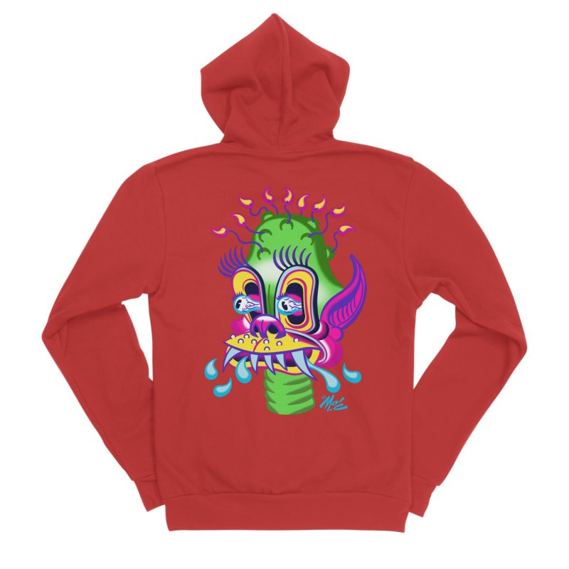 "'Leave it to Beaver' Monster Shirt! ""Alan"" version! Men's Zip-Up Hoody by Mitch O'Connell"