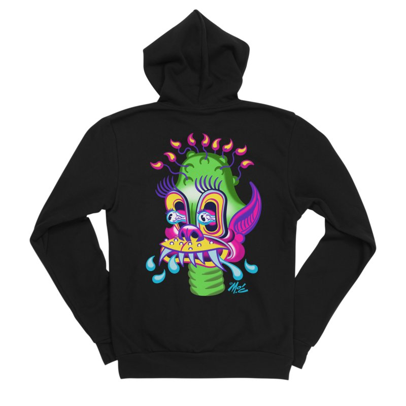 """'Leave it to Beaver' Monster Shirt! """"Alan"""" version! Men's Sponge Fleece Zip-Up Hoody by Mitch O'Connell"""