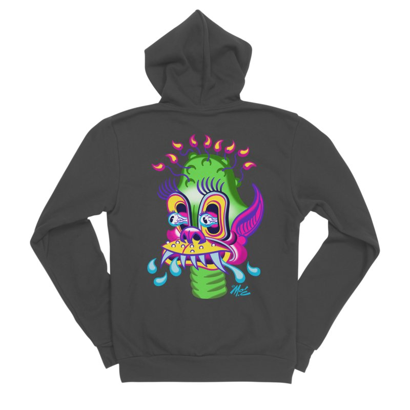 "'Leave it to Beaver' Monster Shirt! ""Alan"" version! Men's Sponge Fleece Zip-Up Hoody by Mitch O'Connell"