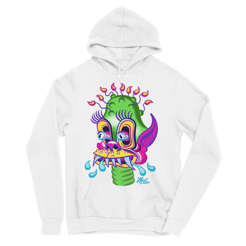 """'Leave it to Beaver' Monster Shirt! """"Alan"""" version! Women's Sponge Fleece Pullover Hoody by Mitch O'Connell"""