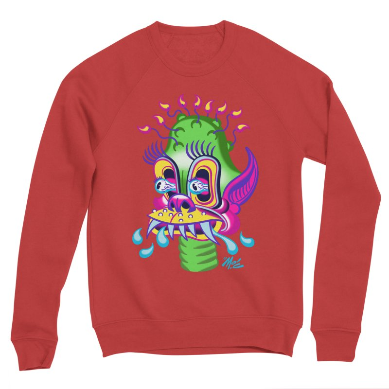 "'Leave it to Beaver' Monster Shirt! ""Alan"" version! Men's Sponge Fleece Sweatshirt by Mitch O'Connell"