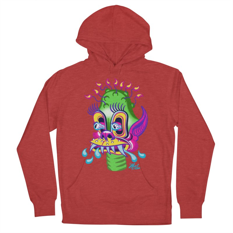 """'Leave it to Beaver' Monster Shirt! """"Alan"""" version! Women's French Terry Pullover Hoody by Mitch O'Connell"""