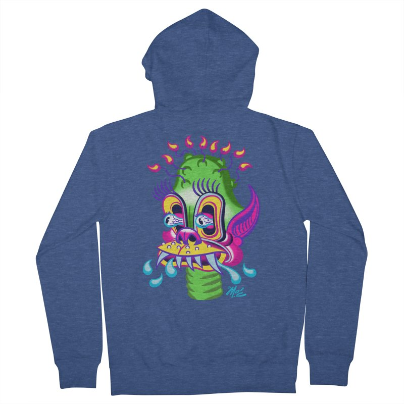 "'Leave it to Beaver' Monster Shirt! ""Alan"" version! Women's French Terry Zip-Up Hoody by Mitch O'Connell"