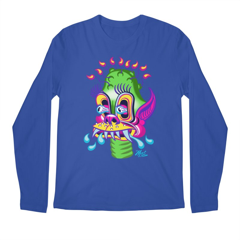 "'Leave it to Beaver' Monster Shirt! ""Alan"" version! Men's Regular Longsleeve T-Shirt by Mitch O'Connell"