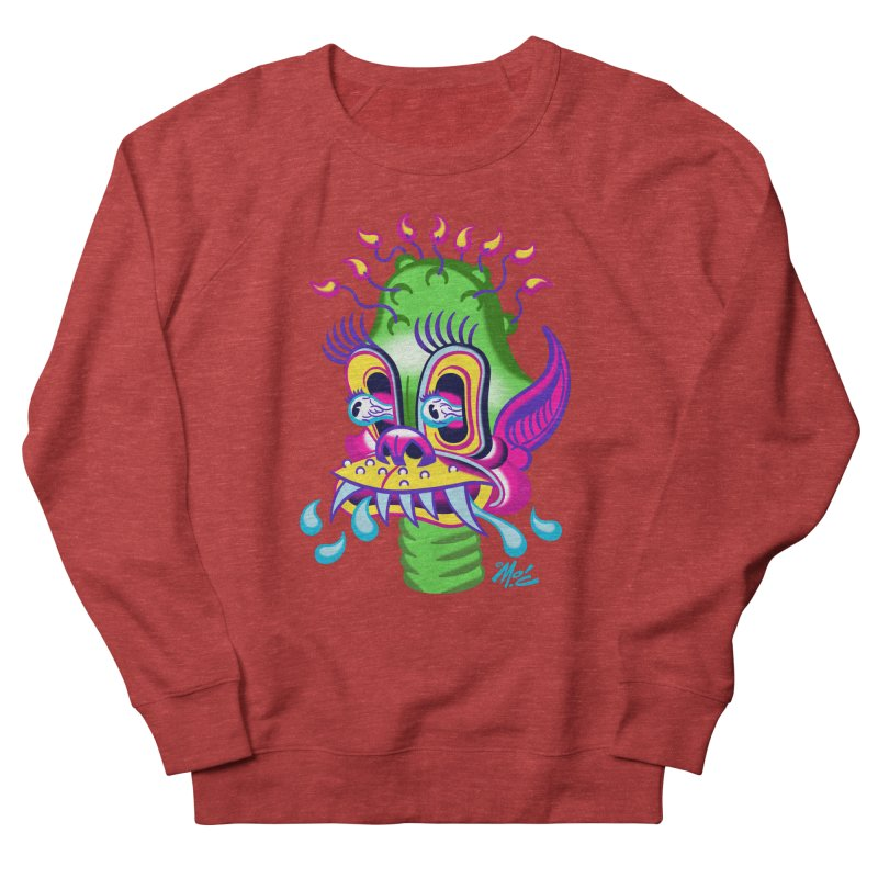 """'Leave it to Beaver' Monster Shirt! """"Alan"""" version! Women's French Terry Sweatshirt by Mitch O'Connell"""