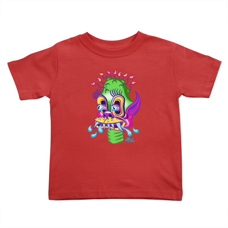 """'Leave it to Beaver' Monster Shirt! """"Alan"""" version! Kids Toddler T-Shirt by Mitch O'Connell"""