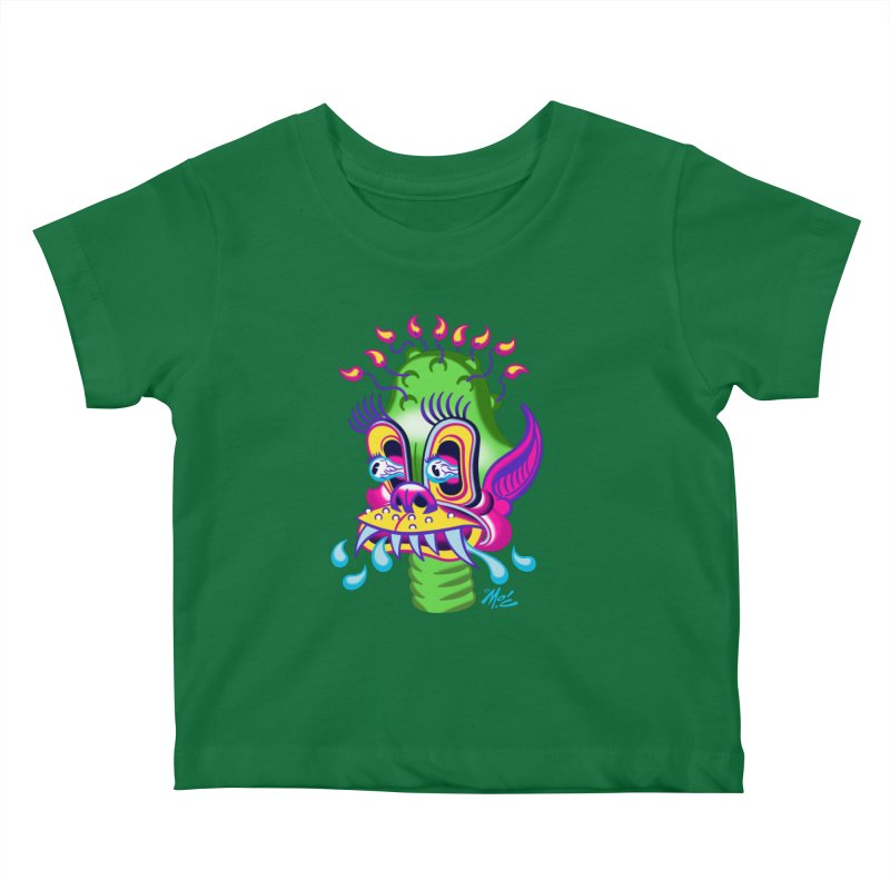 "'Leave it to Beaver' Monster Shirt! ""Alan"" version! Kids Baby T-Shirt by Mitch O'Connell"